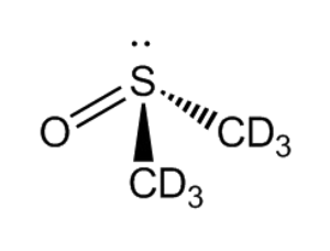 Deuterated DMSO - Image: DMSO deuterated structure
