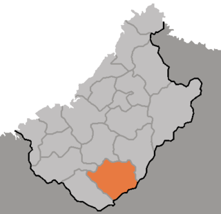 Tongsin County County in Chagang Province, North Korea