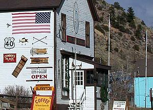 Empire, Colorado - General store along U.S. Highway 40 in Empire, Colorado