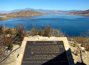 Diamond Valley Lake - Image: DV Llake