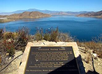 Diamond Valley Lake - Image: DV Llake