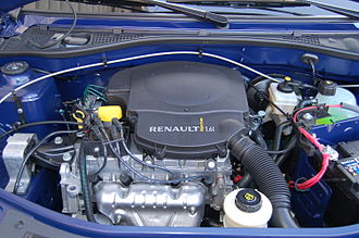 Automotive engine - Internal combustion engines, like the 1.6 litre (98 cubic inch) petrol engine from 2009 seen here, have been the dominant propulsion system for most of the history of automobiles
