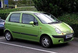 Chevrolet Spark subcompact city car model