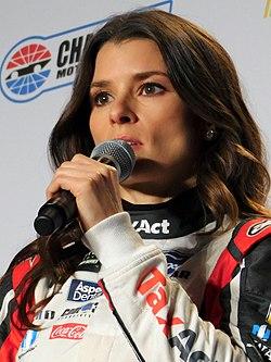 Danica Patrick 2017 NASCAR Media Tour (cropped1).jpg