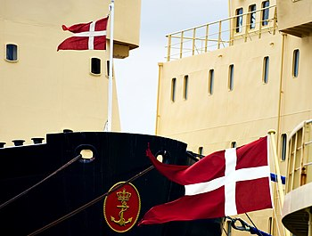 Danish maritim colours