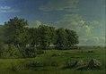Dankvart Dreyer - The Island of Brandsø with Wedellsborg Forest, Funen, in the Distance - KMS452 - Statens Museum for Kunst.jpg