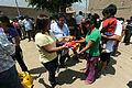 Danmnificado de Jicamarca reciben donación de congresistas de Solidaridad Nacional (6892678678).jpg