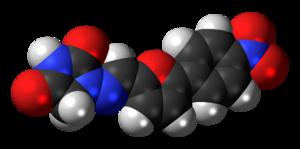 Dantrolene - Image: Dantrolene 3D spacefill