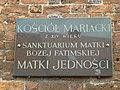 Darłowo tablica na murze kościoła. - panoramio.jpg