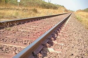 Adelaide–Darwin railway - Adelaide–Darwin railway line in Darwin