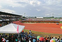 Davao del Norte Sports and Tourism Complex during Palarong Pambansa 2015 Opening Ceremony.jpg