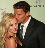 David Boreanaz Jaime Bergman May 2006.jpg