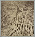 Dead Confederate soldier in trenches of Fort Mahone in front of Petersburg, Va., April 3, 1865 LCCN2012647837.jpg