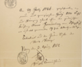 Death certificate for Moses Freudenberg (1786-1846) of Magdeburg, Saxony-Anhalt, Germany.png