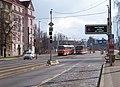 Dejvice, Svatovítská, semafory a informační displej.jpg