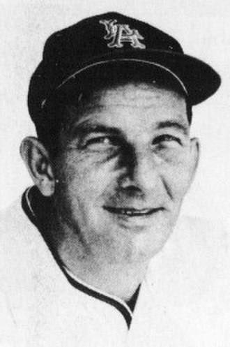 Del Rice - Rice as a coach for the Los Angeles Angels, circa 1965.