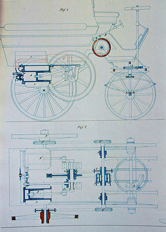 Delamare-Deboutteville - Diagrams from patent of the Delamare-Deboutteville design