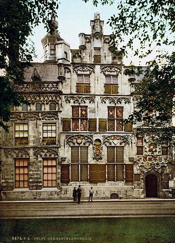 Delft Gemeenlandshuis 1900