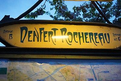 Denfert-Rochereau (Métro Paris)