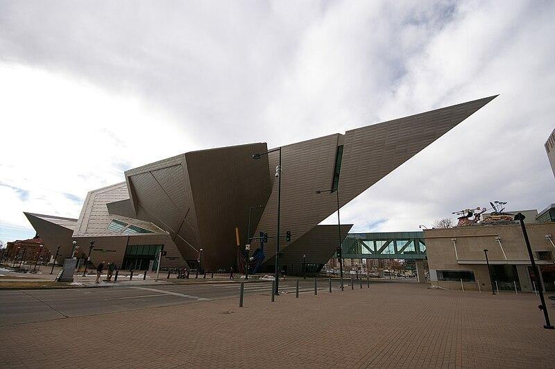 File:Denver Art Museum Frederic C. Hamilton building.jpg