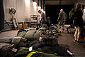 Deployment bags await pickup as U.S. Airmen with the 606th Air Control Squadron reunite with friends and family members at Spangdahlem Air Base, Germany, Jan. 15, 2014 140115-F-OP138-204.jpg