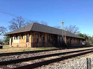 Hapeville, Georgia - Image: Depot, Hapeville, Georgia