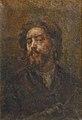 Desboutin M. - Oil on canvas - Autoportrait à la pipe - 27x40cm.jpg