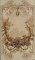 Design for a Decorative Wall Panel with Hunting Motif, Pless Chateau, Silesia MET 67.827.151.jpg