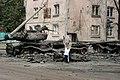 Destroyed Georgian T-72 tank in Tskhinvali.jpg