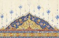 Detalj ur koran - Skoklosters slott - 102349.tif