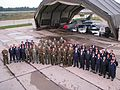 Detasamentul romanesc participant la misiunea BALTICA 2007.jpg