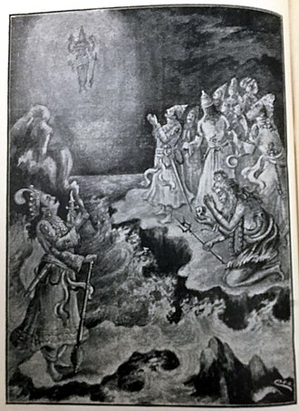 Hiranyakashipu - Devas approach Vishnu to requesting him to control Hiranya kashipu