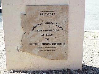 Dewey–Humboldt, Arizona Town in Arizona, United States
