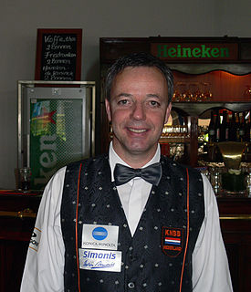 Dick Jaspers Dutch billiards player