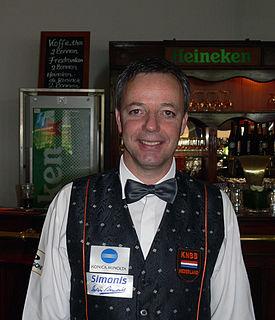Dick Jaspers Dutch carom billiards player