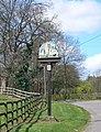 Diddington Village Sign - geograph.org.uk - 1255059.jpg