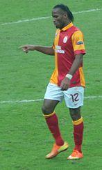 Drogba con la maglia del Galatasaray nel 2013