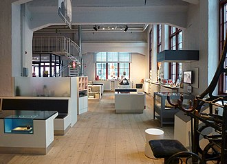 Stockholm County Museum - Interior shot of Stockholm County Museum in Sickla, 2014.