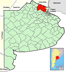Roman Catholic Diocese Of ZárateCampana Wikipedia - Zarate argentina map