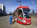 Disinfection of the tram during the COVID-19 pandemic. Saint Petersburg, Russia.jpg