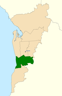 Division of Boothby Australian federal electoral division