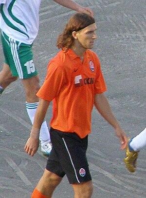 Dmytro Chygrynskiy - Chygrynskiy with Shakhtar in July 2008