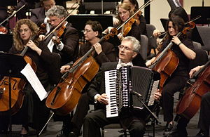 Accordion music genres - Henry Doktorski with the New Philharmonic Orchestra.