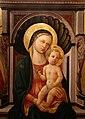 Domenico di michelino, madonna col bambino in trono e santi, 1450-60 ca., da s.m. dei cerchi firenze, 06.jpg