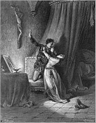 "Illustration 14 for Miguel de Cervantes's ""Don Quixote"""