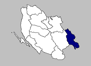 Donji Lapac - the Donji Lapac municipality within the Lika-Senj County