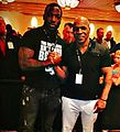 Dorsett the Barnwell with former heavyweight champion Mike Tyson- 2013-10-03 11-31.jpg