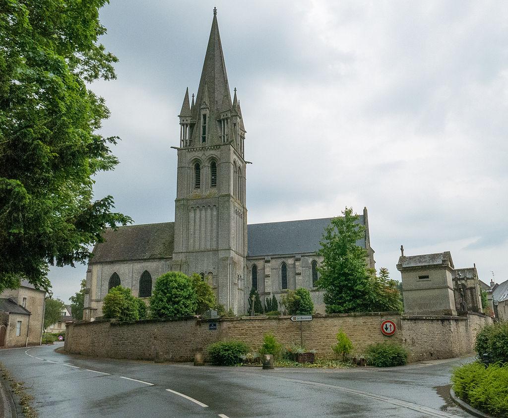 Douvres-La-Delivrande (Douvres) Churchyard -4.JPG