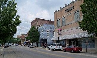 Centralia, Illinois - Image: Downtown Centralia IL 1