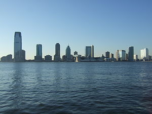 Downtown Jersey City Hudson Water front from NYC.jpg